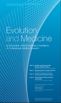 Evolution and Medicine poster image