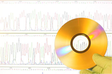 Image of a CD and graphs