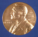 Nobel Prize Medal. Copyright The Nobel Foundation