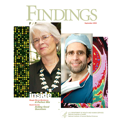 Findings Magazine Cover, September 2003.