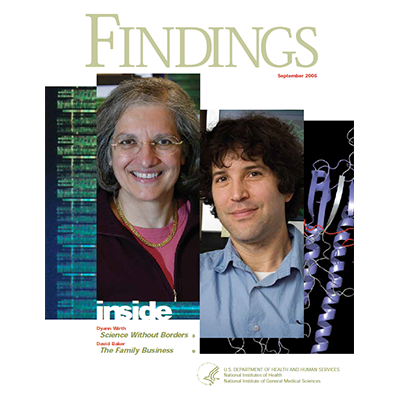 Findings Magazine Cover, September 2005.