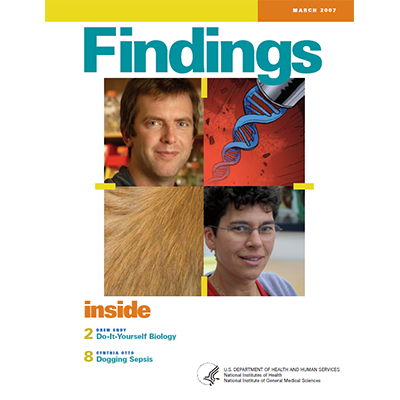 Findings Magazine Cover, March 2007.