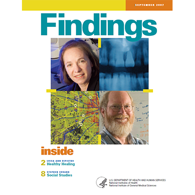 Findings Magazine Cover, September 2007.