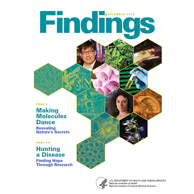 Findings Magazine Cover, September 2008.
