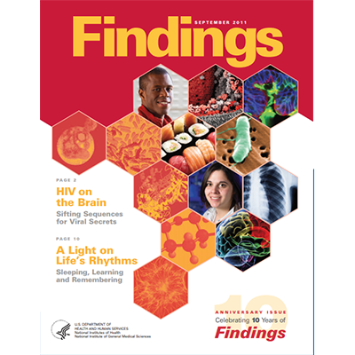 Findings Magazine Cover, September 2011;.