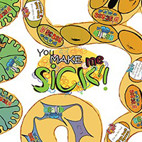 'You Make Me Sick' Board Game.