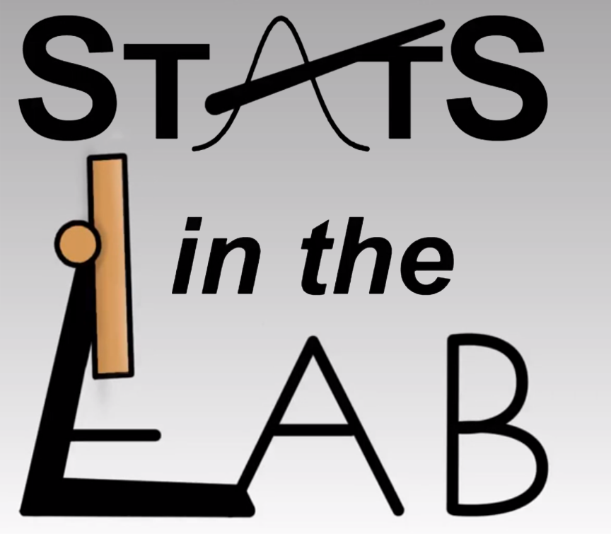 Logo of Stats in the Lab.